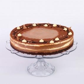Belgium Chocolate Cheesecake