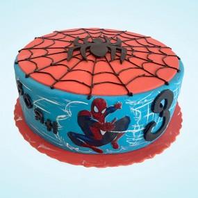 Blue Spider Man