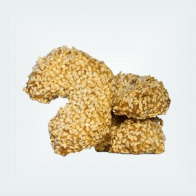 Honey Biscuits with Sesame