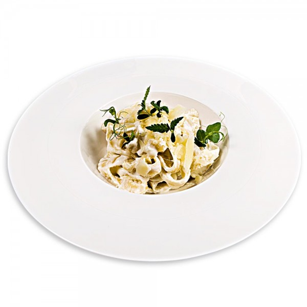 Tagliatelle with 4 types of cheese